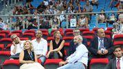 Maria Elena Boschi all'Adriatic Arena (Fotoprint)