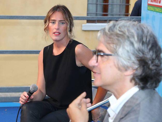 Maria Elena Boschi alla Festa dell'Unità (Fotoprint)