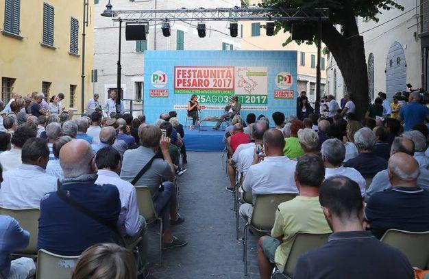 Il pubblico della Festa dell'Unità (Fotoprint)