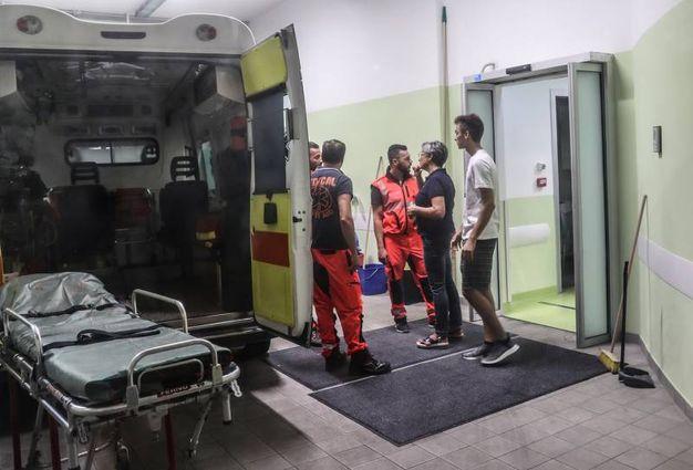 La mamma di Valentino Rossi in ospedale (Fotoprint)