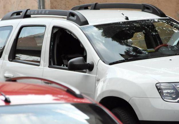 L'auto dell'uomo in fuga / Brianza