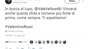 Francesco Facchinetti (da Twitter)