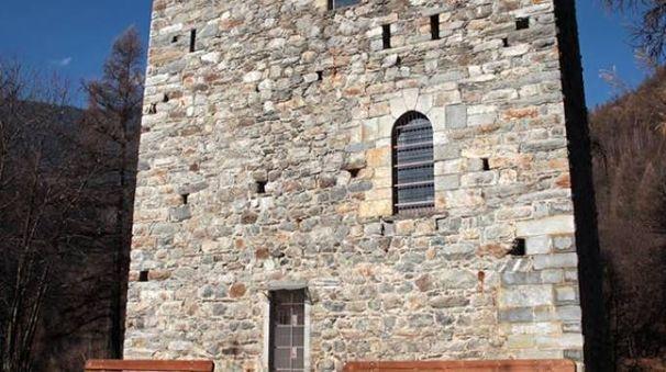 Alla Torre di Castionetto di Chiuro, aperta per l'occasione, una pizzoccherata