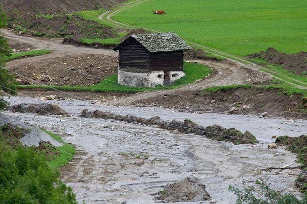 Val Bregaglia, chiusa la dogana a causa di una nuova frana (Orlandi)