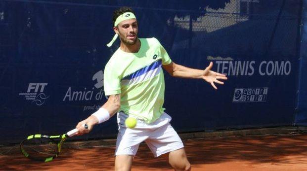 Marco Cecchinato, testa di serie numero uno del torneo