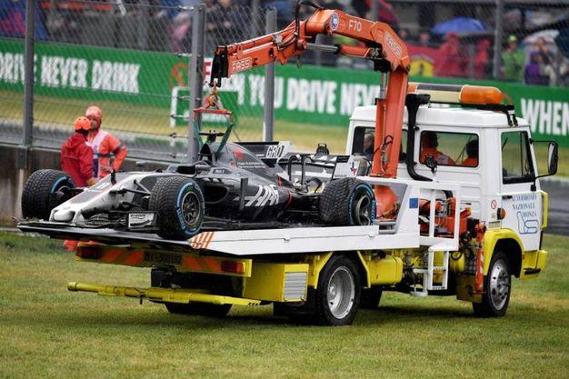 Incidente per Grosjean (Afp)