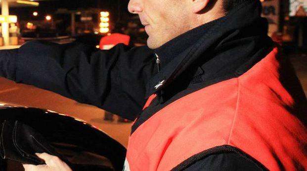 I carabinieri del Radiomobile in azione