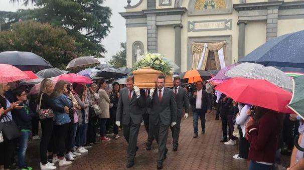 I funerali del ragazzo