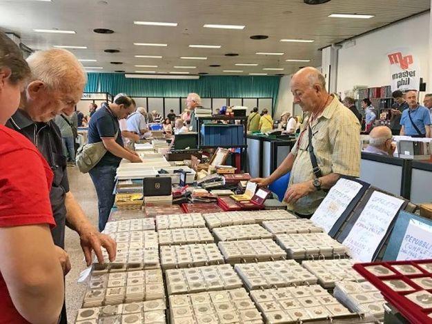 Convegno filatelico-numismatico (Foto Concolino)