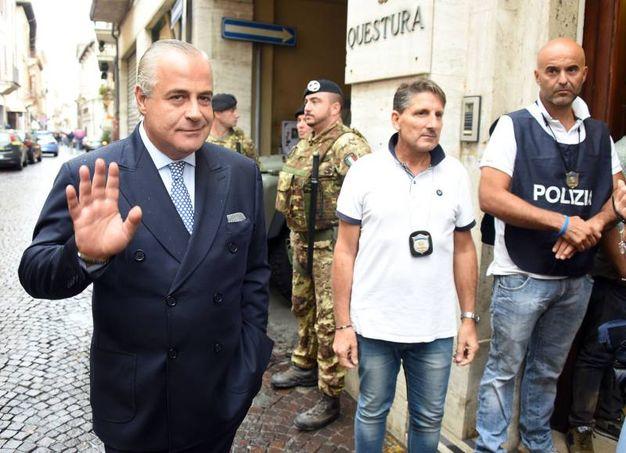 Il questore Maurizio Improta (Migliorini)
