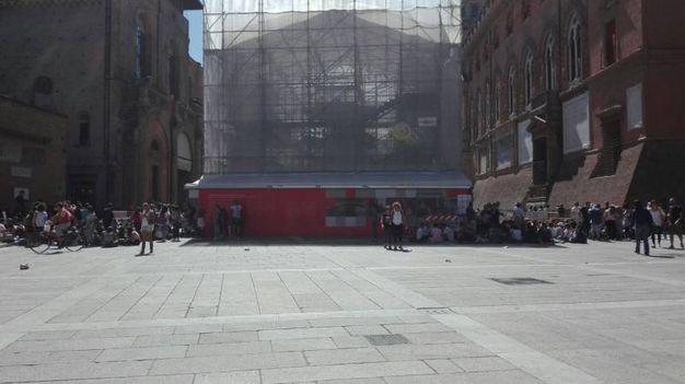 I fan entreranno soltanto da piazza del Nettuno