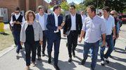 L'arrivo di Renzi alla Festa (foto Zani)