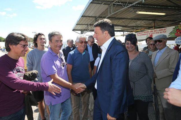 Renzi era già intervenuto alla festa cinque anni fa (foto Zani)