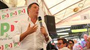 Il discorso di Renzi (foto Zani)
