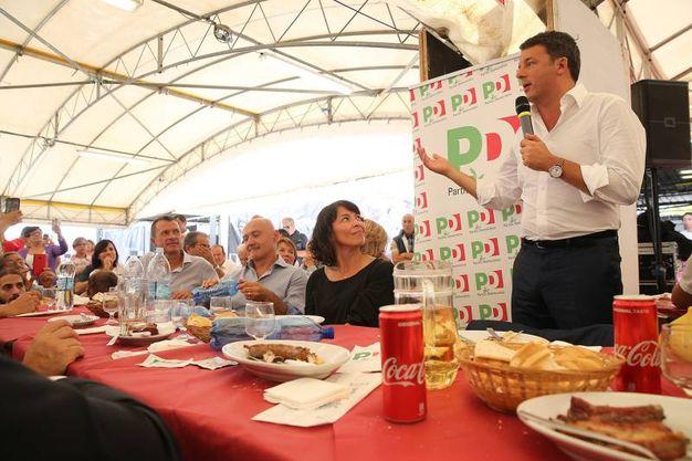 Quelli che se ne sono andati dal Pd non è che hanno perso la nostra amicizia, ha detto Renzi (foto Zani)