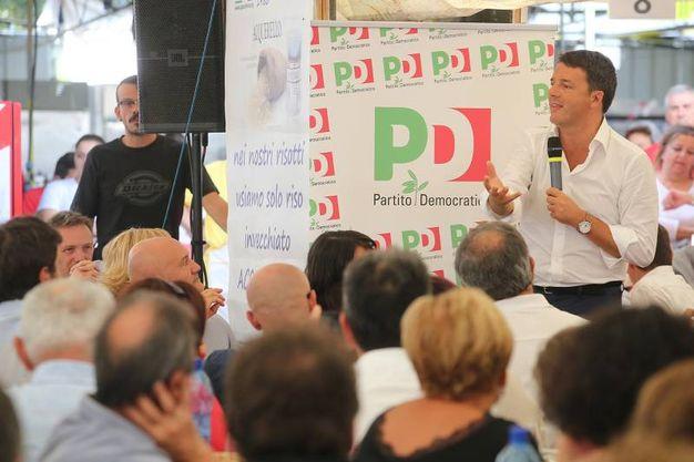 L'intervento del segretario Pd alla Festa dell'Unità (foto Zani)