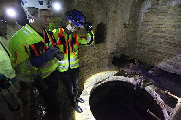 Cisterne e archi ribassati nascosti (foto Antic)