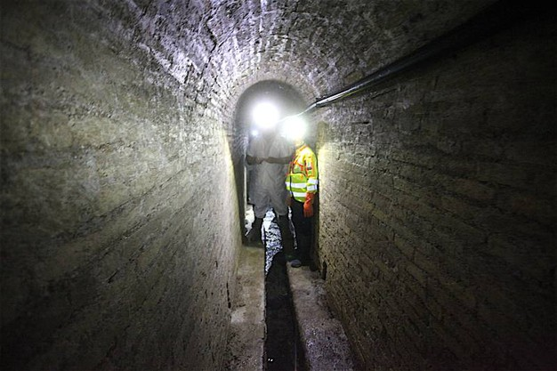 Il primo riguarda la cisterna del Calamo, ingresso in via Zappata (foto Antic)