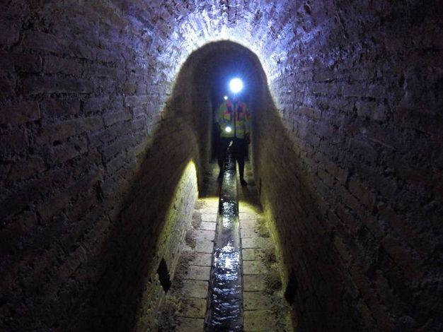 Il sottosuolo di Ancona (foto Antic)