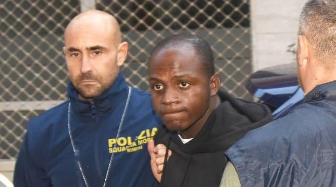 Il congolese presunto capo della banda