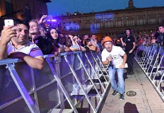 Radio Bruno Estate, via llo spettacolo che ha fatto arrivare 10mila fan in piazza (Foto Schicchi)
