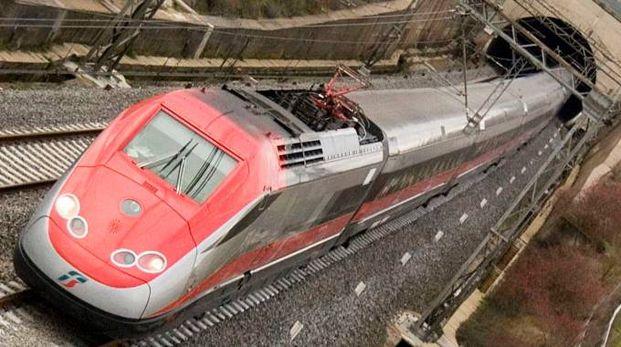 Un treno Freccia Rossa (foto archivio Cristini)