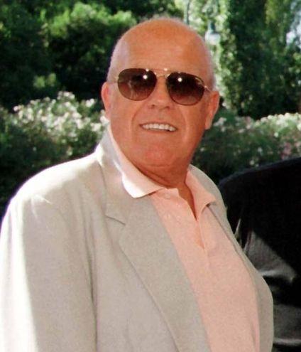 Gastone  Moschin al Festival del Cinema di Venezia, in una immagine del 30 agosto 1997 (ANSA/CLAUDIO ONORATI)