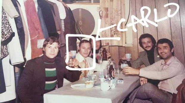 La foto con cui Salvatore Caccavale ha lanciato la sua ricerca su Facebook