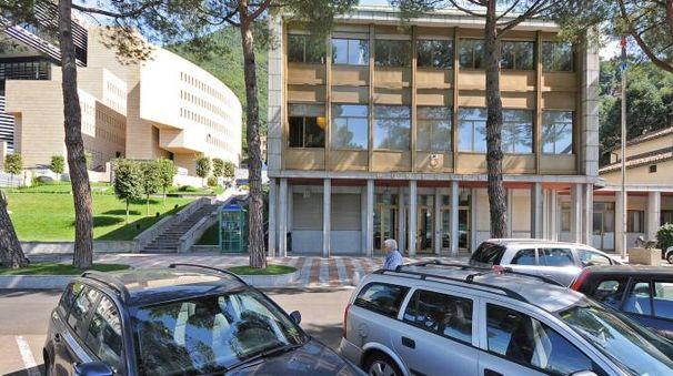 Il palazzo municipale di Campione d'Italia