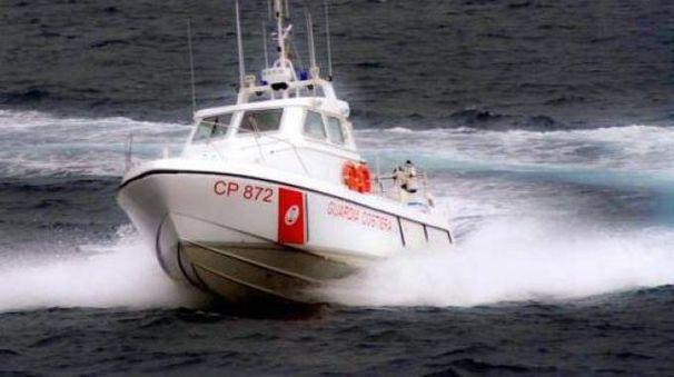 Intervento della Guardia costiera
