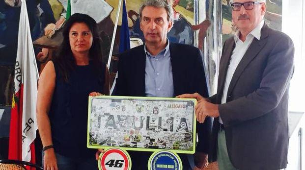 Da sinistra,Francesca Paolucci, Patrizio Federici e Alberto Paccapelo