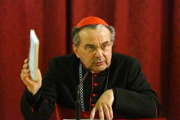 Carlo Caffarra (foto Ansa)