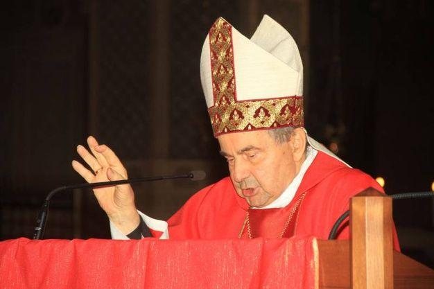 Il cardinale Caffarra (foto Dire)