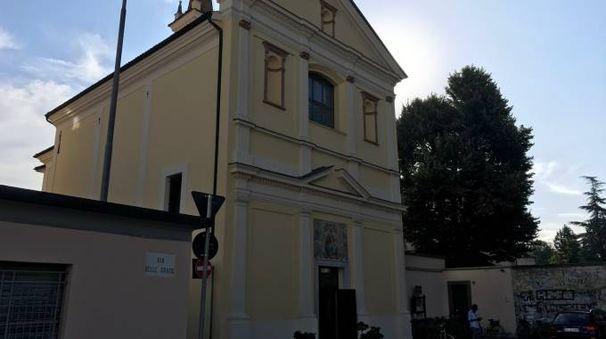La chiesa presa di mira