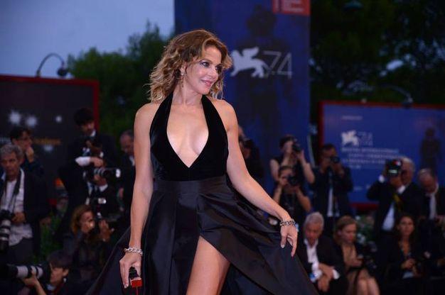 Claudia Gerini (foto Afp)