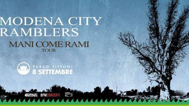 Modena City Ramblers live al Parco Tittoni
