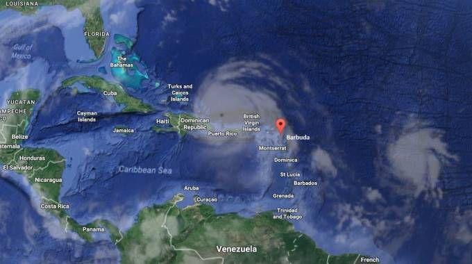 Irma sui Caraibi (Dire)