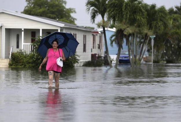 Evacuazioni nel sud della Florida (Ansa)