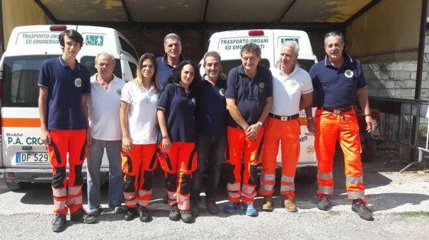 I volontari della Croce Verde