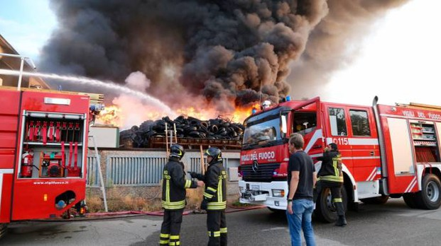 L'incendio di Mortara