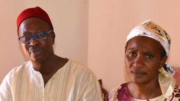 I genitori di Mamadou Lamine Thiam Bara