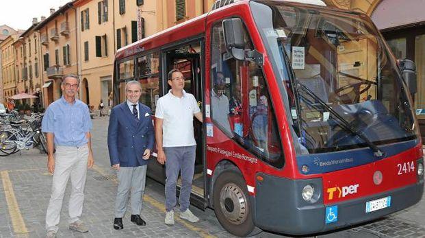 L'autobus della linea 5 che entra in servizio il 15 settembre