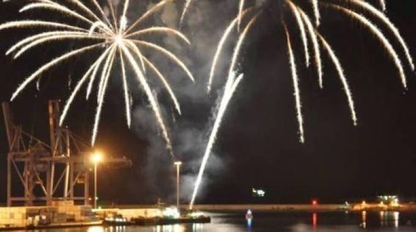 Festa del mare, i fuochi d'artificio in una passata edizione