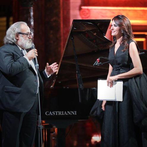 Stefano Ricci e Maria Grazia Cucinotta