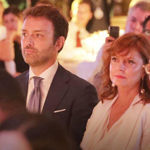 Niccolò Ricci e Susan Sarandon