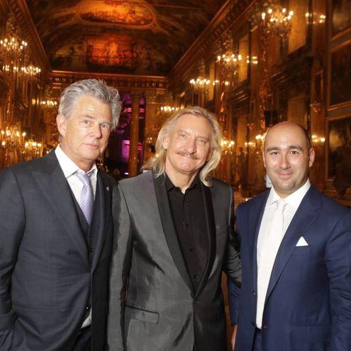David Foster, Joe Walsh e Filippo Ricci (Foto Massimo Sestini)