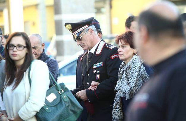 I genitori e la sorella di Massimo (Foto Goiorani)