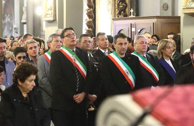 I sindaci della Valdinievole presenti alla cerimonia (Foto Goiorani)