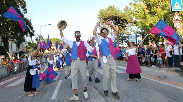 Un momento di festa a Osteria Nuova (foto Solidea)