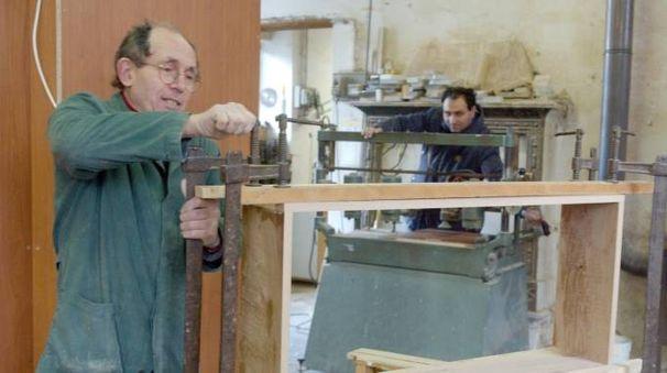 Un'impresa del settore legno-arredo